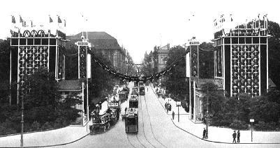 Festdekoration leipziger platz for Innendekoration 1915